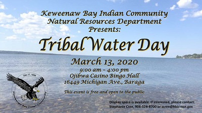 Tribal Water Day - March 13, 2020