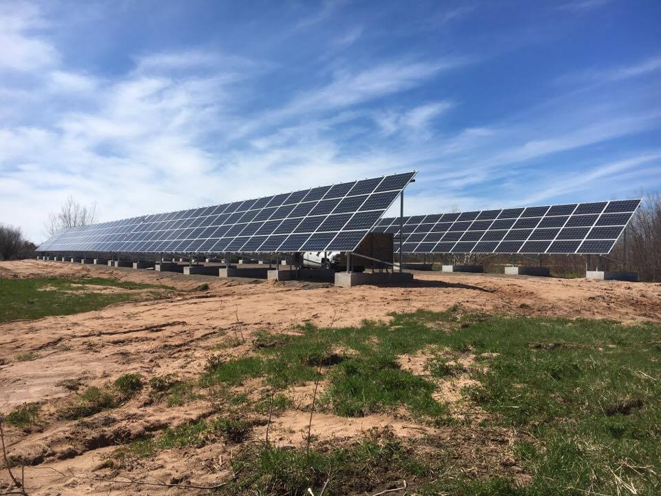 LaPointe Health array solar panels